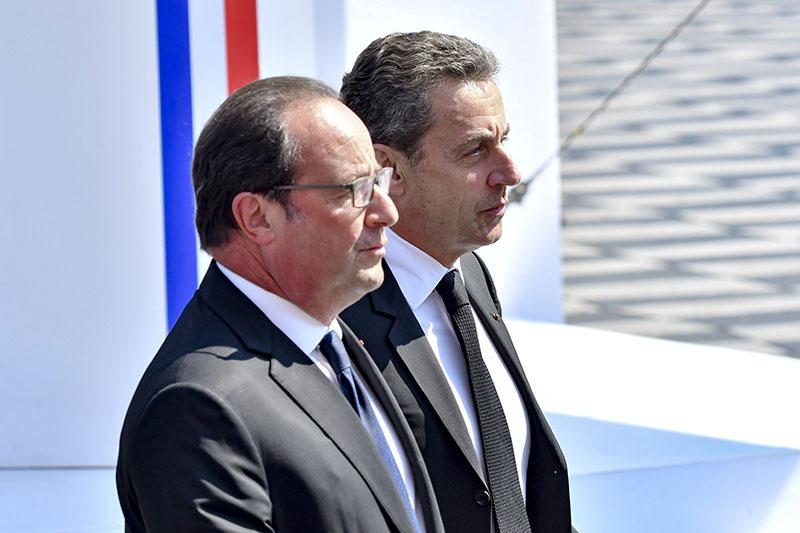 Франсуа Олланд и Николя Саркози