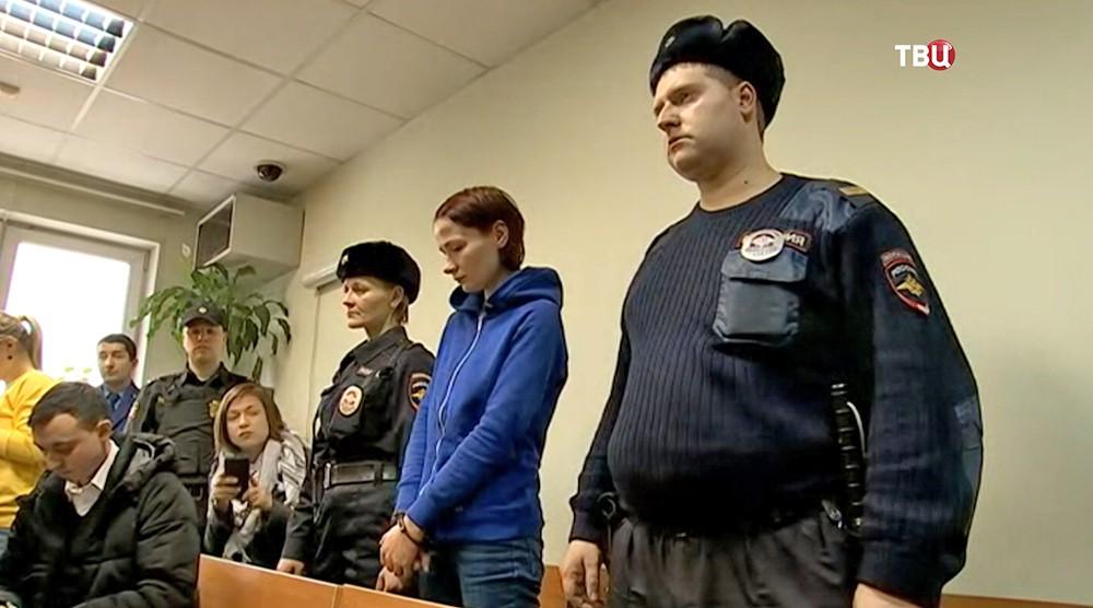 Надежда Куликова в суде
