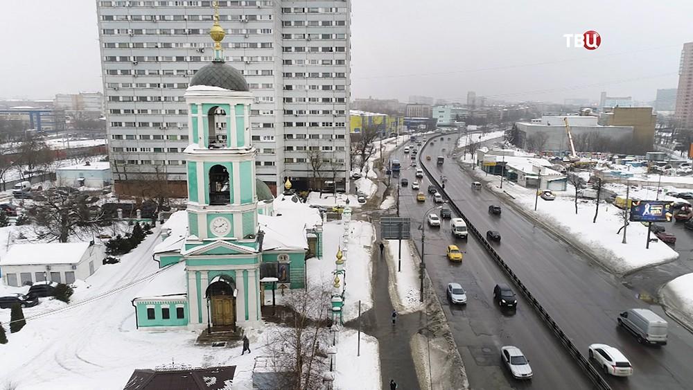 Троицкая церковь на Нижегородской улице