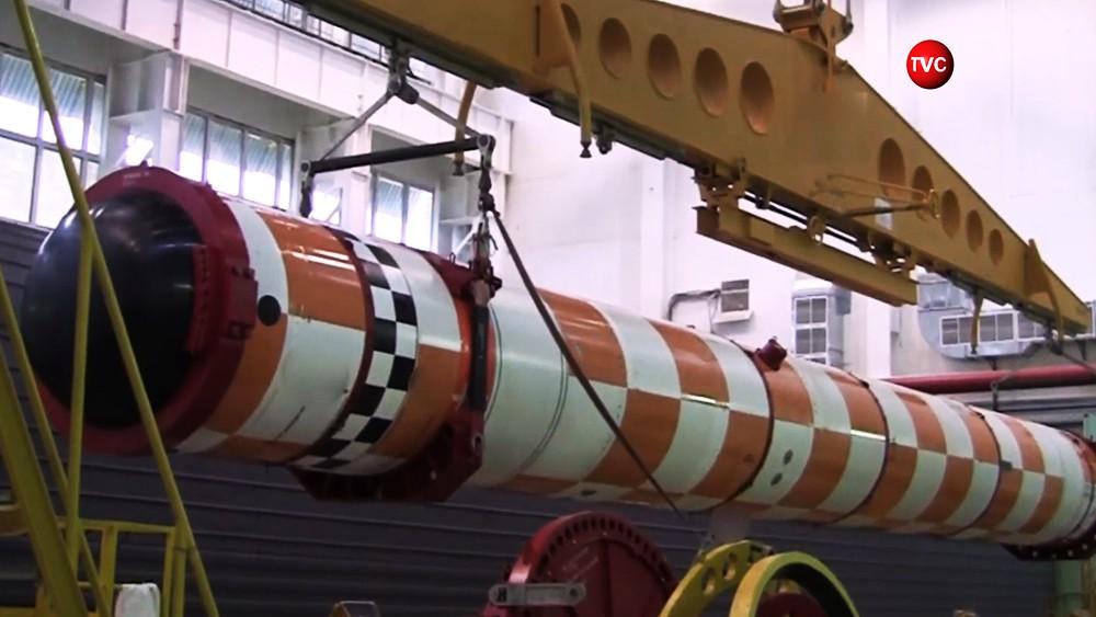 """Подводный беспилотный комплекс """"Посейдон"""""""
