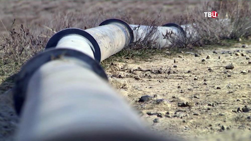 Трубопровод в Крыму