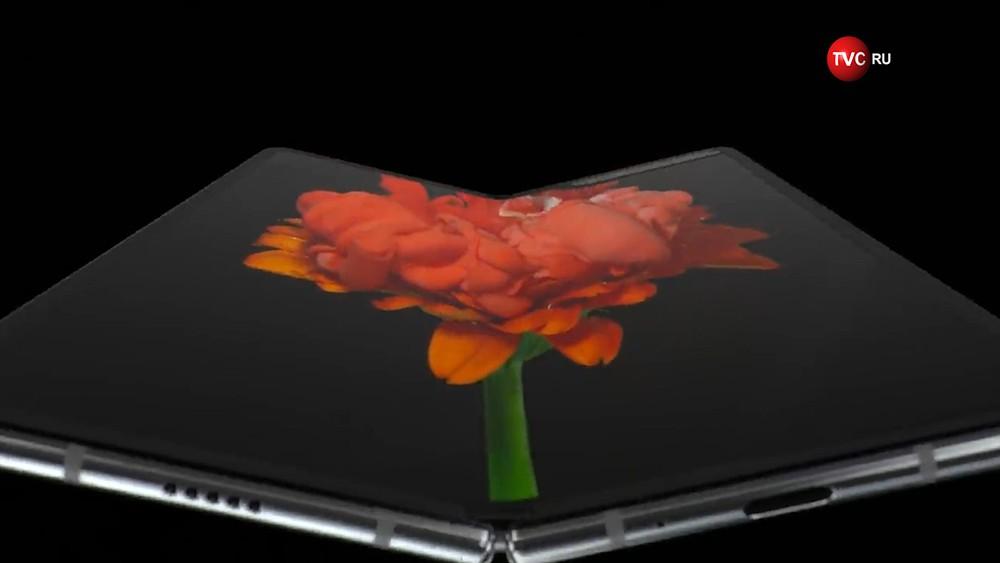 Раскладной смартфон-планшет Samsung