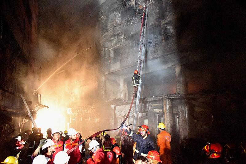 Пожар в Бангладеш