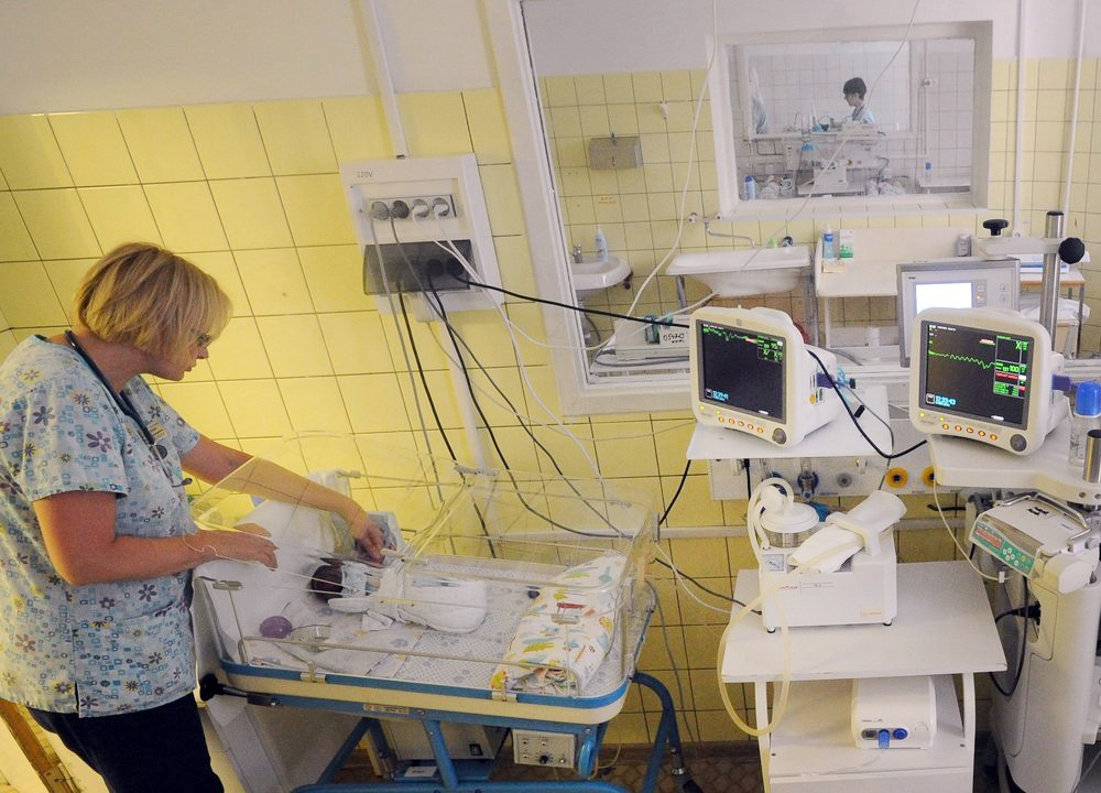 Палата интенсивной терапии для новорожденных