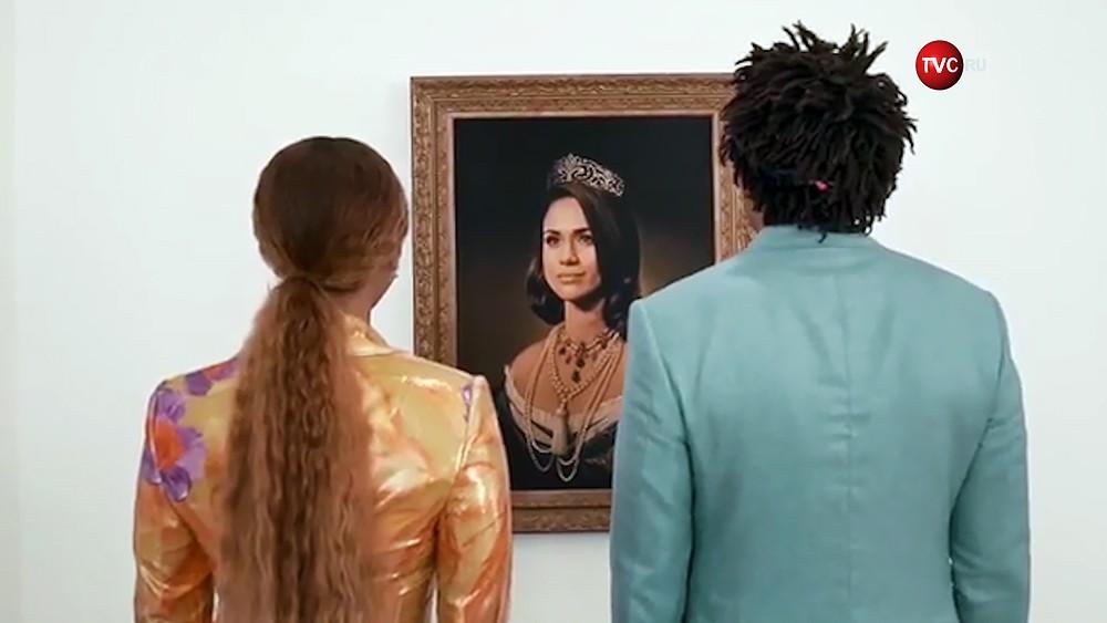 Бейонсе у портрета Меган Маркл