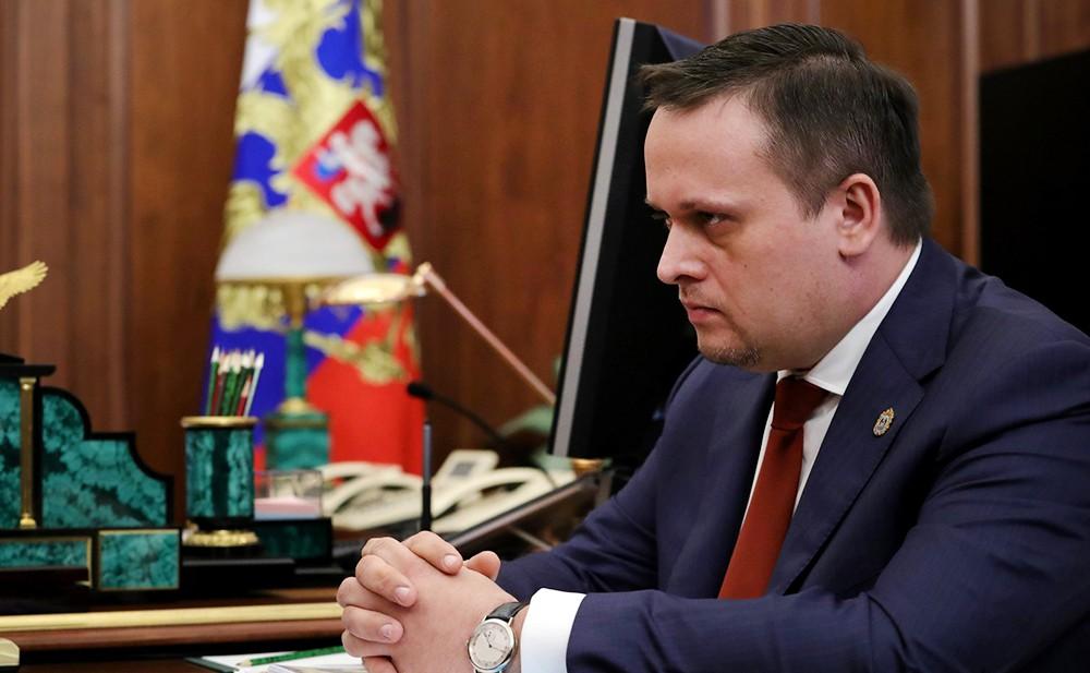 Глава Новгородской области Андрей Никитин