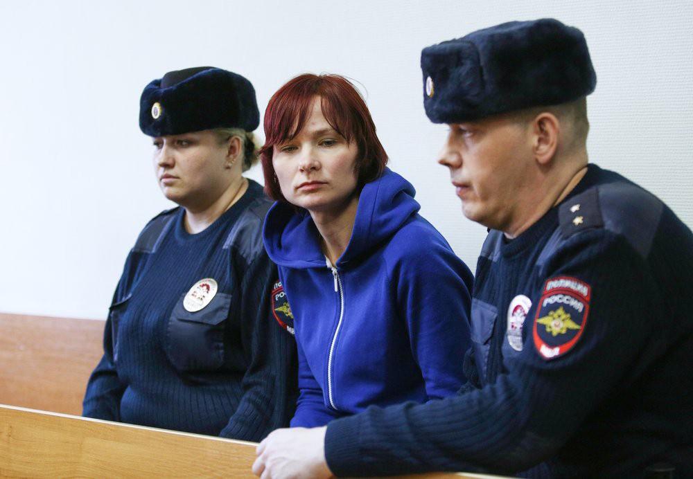Оставившая сына в лесу Надежда Куликова в суде
