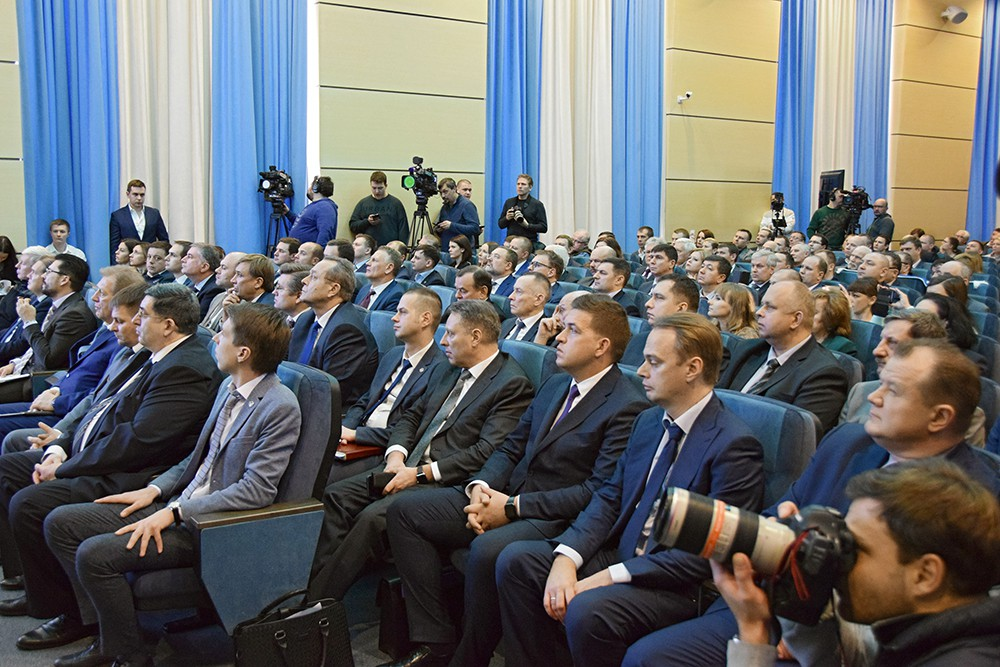 """Пресс-конференция """"Роскосмоса"""""""