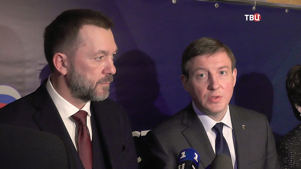 Андрей Турчак и Дмитрий Саблин