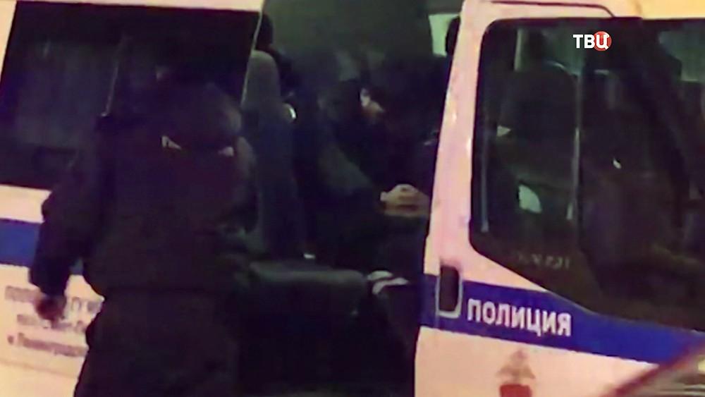 Подозреваемый в наезде на людей на Невском проспекте в Санкт-Петербурге