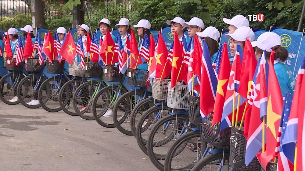 Подготовка к встречи Ким Чен Ына и Дональда Трампа во Вьетнаме