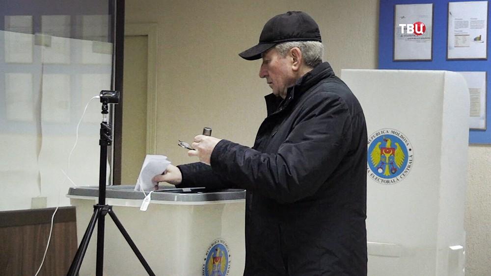 Голосование на выборах в Млдавии