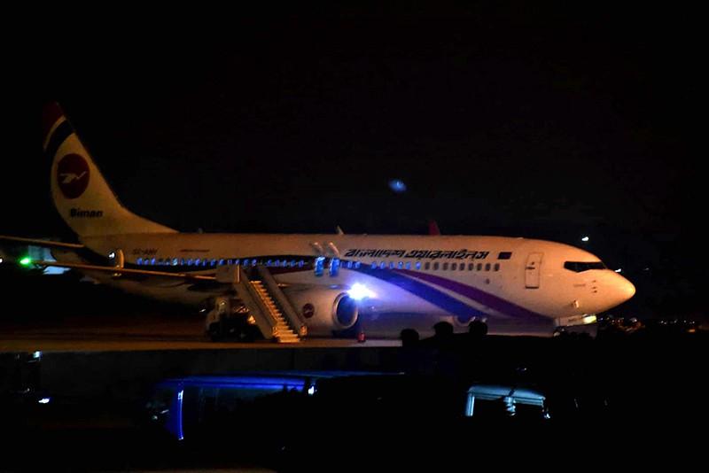 Самолет авиакомпании Biman Bangladesh Airlines