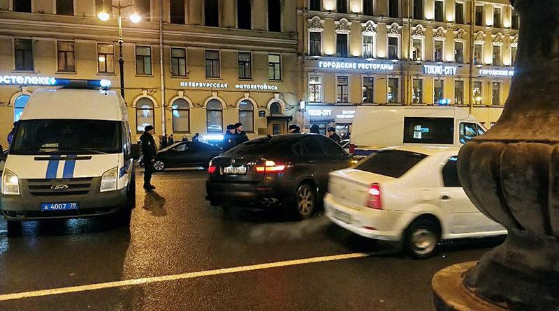 На месте ДТП в Санкт-Петербурге