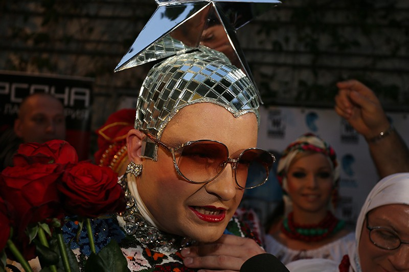 Певица Верка Сердючка (Андрей Данилко)
