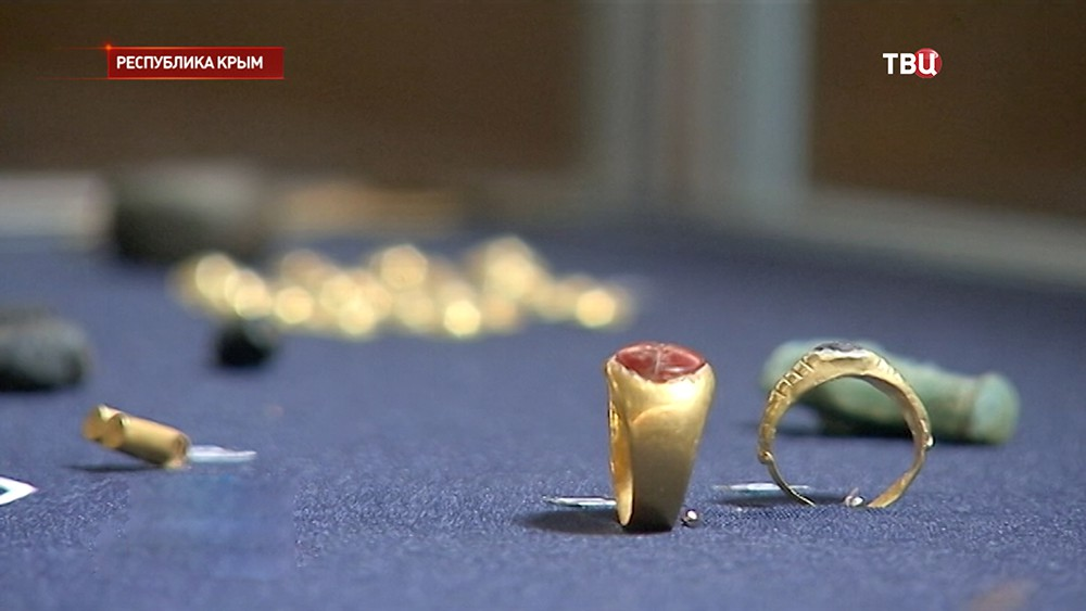 Археологи раскопали сокровищницу скифов