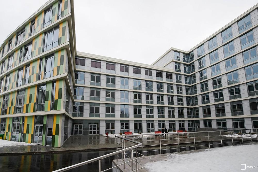 Осмотр работ по строительству перинатального центра городской клинической больницы № 67
