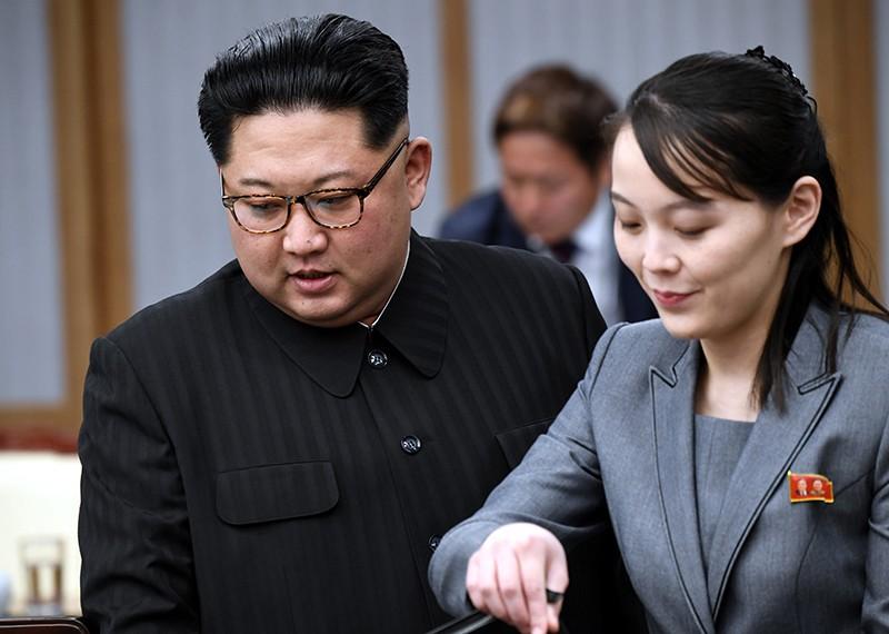 Ким Чен Ына и его сестра Ким Ё Чжон