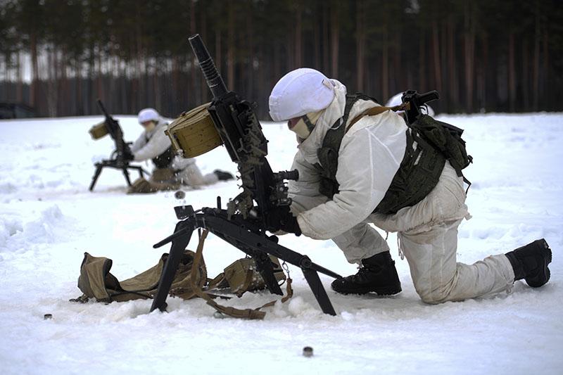 Военнослужащие отряда специального назначения