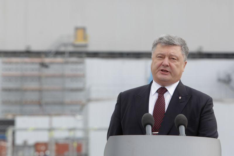 Петр Порошенко на АЭС