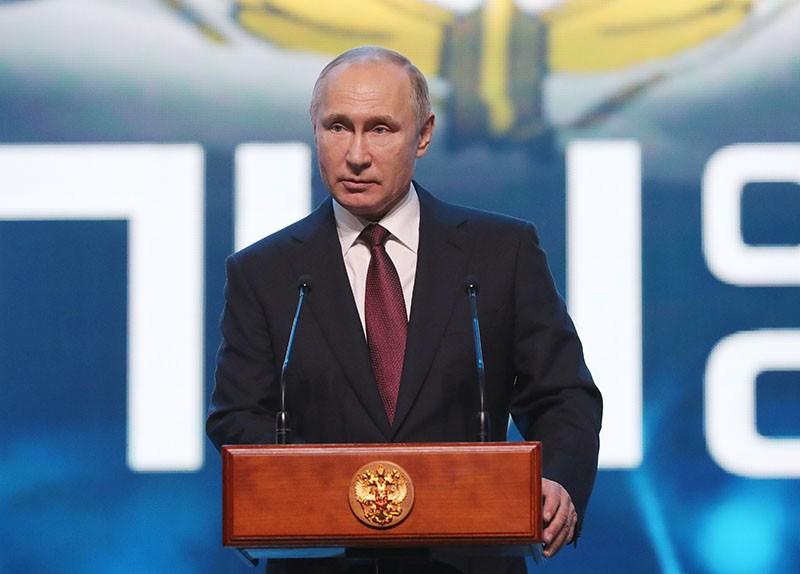 Владимир Путин выступает на торжественном приеме в честь Дня Сил специальных операций ВС России