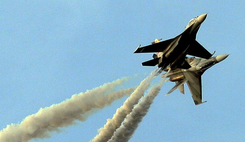 Истребители Су-30