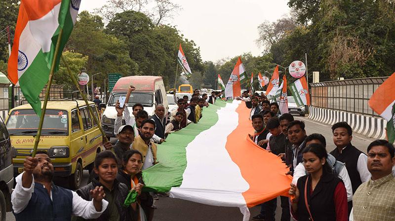 Митинг в Индии