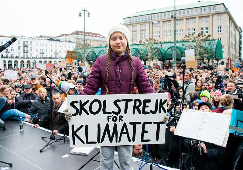 Митинг в поддержку климата