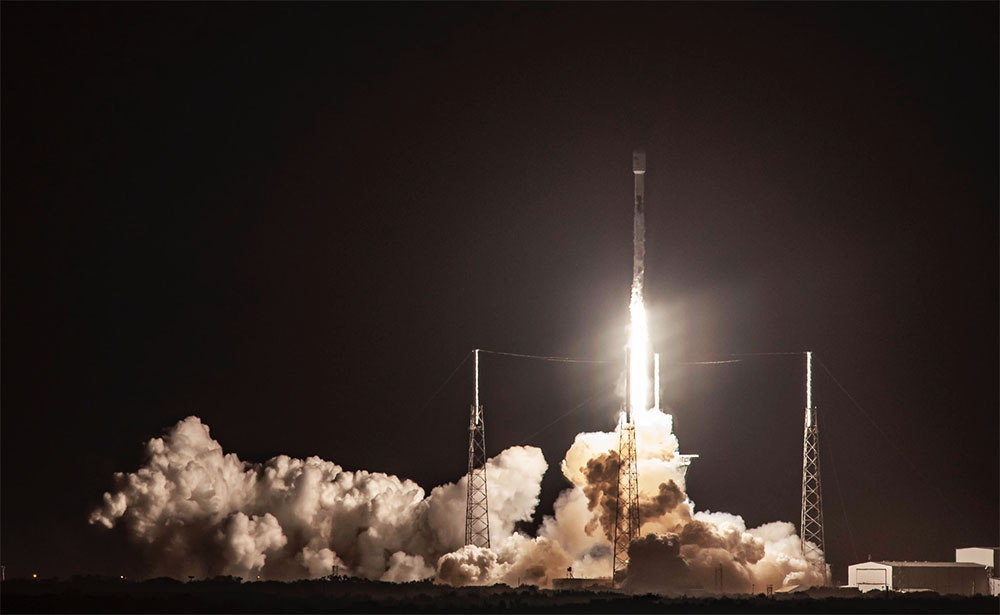 Пуск ракеты SpaceX