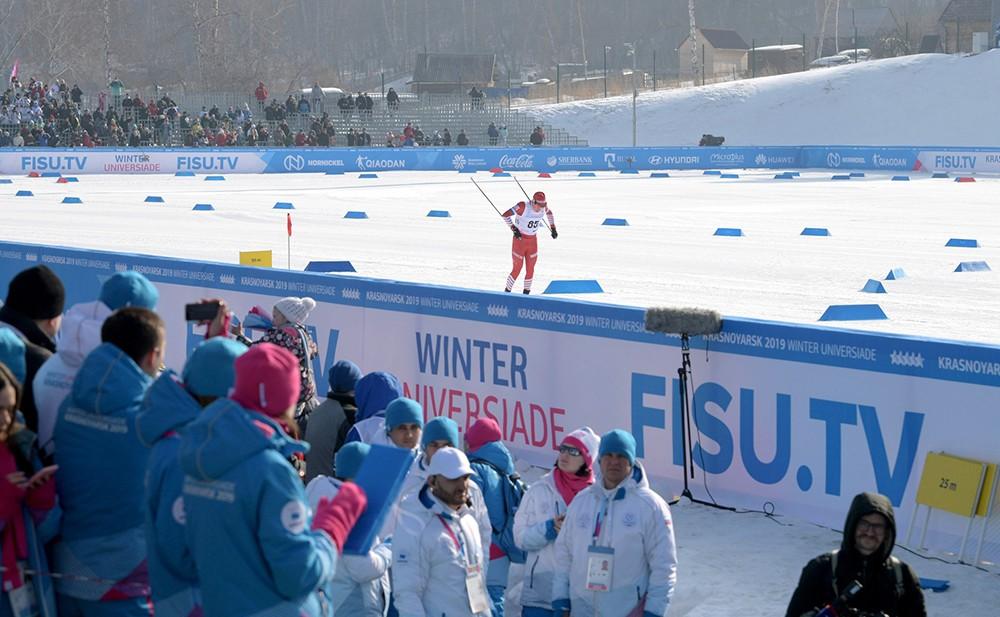 Зимняя универсиада-2019: соревнования по лыжным гонкам среди мужчин