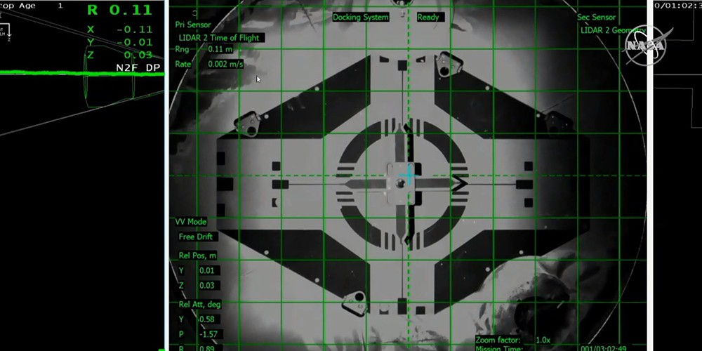Стыковка Crew Dragon 2 с МКС