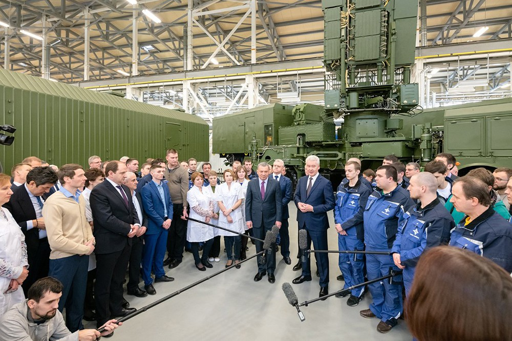 "Сергей Собянин посетил концерн ""Алмаз-Антей"""