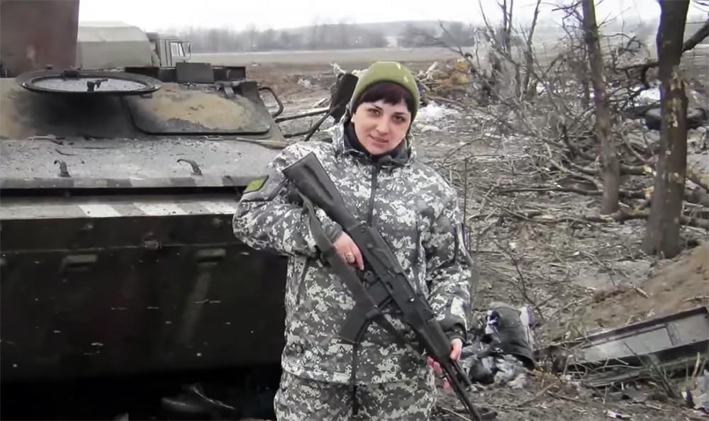 Экс-командир танкового экипажа ДНР Светлана Дрюк