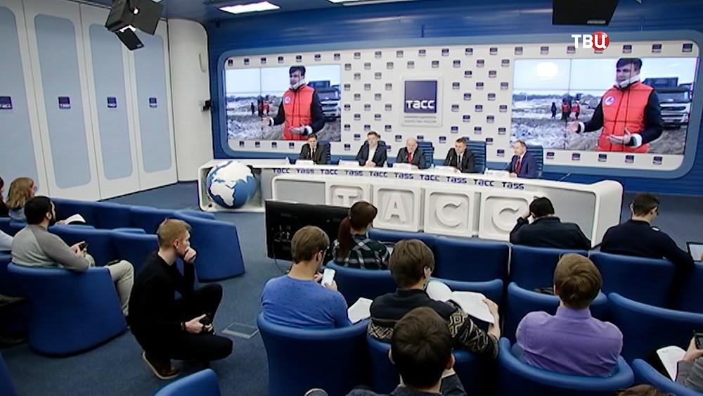 Пресс-конференция ОНФ по вопросу мусорной реформы