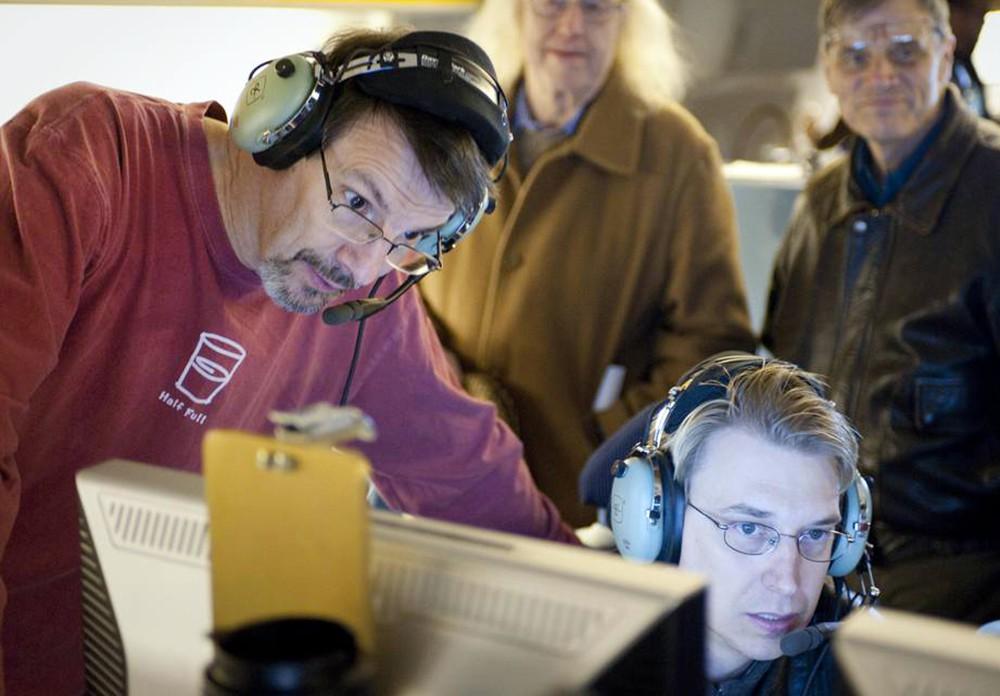 Работники обсерватории