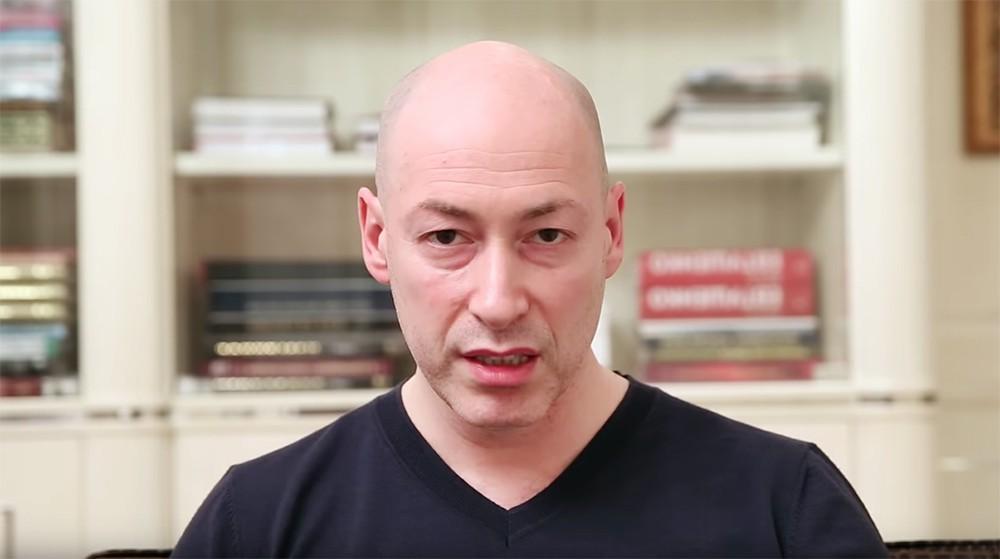 Украинский журналист Дмитрий Гордон