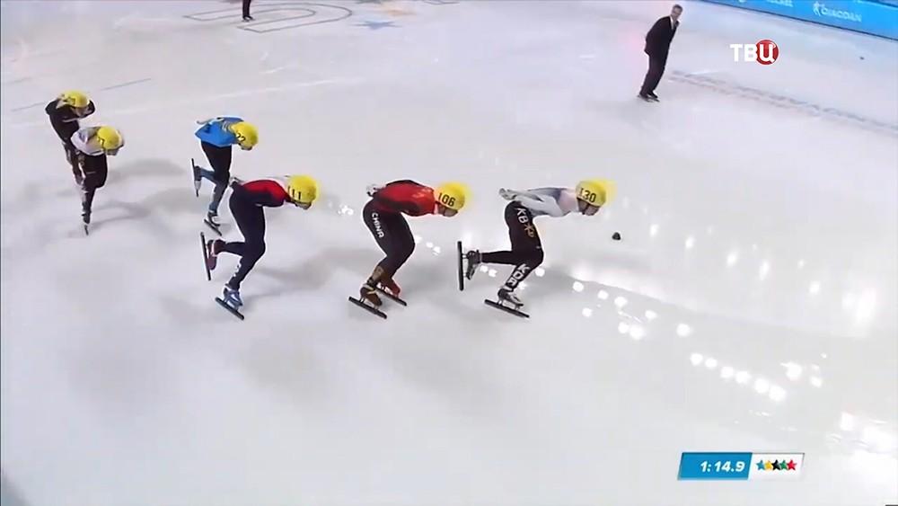 Соревнованиях по шорт-треку на XXIX Всемирной зимней Универсиаде 2019