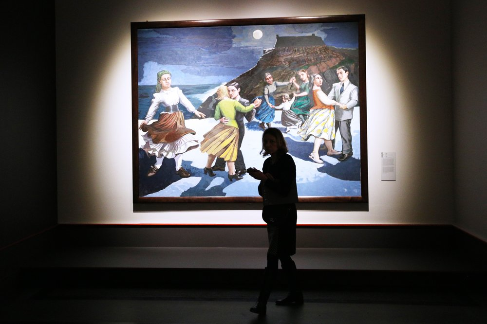 """Выставка """"Фрэнсис Бэкон, Люсьен Фрейд и Лондонская школа"""" в Государственном музее изобразительных искусств имени А.С. Пушкина"""