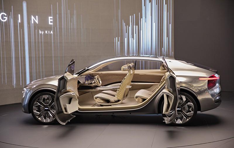 Новый полностью электрический концепт-кар от KIA