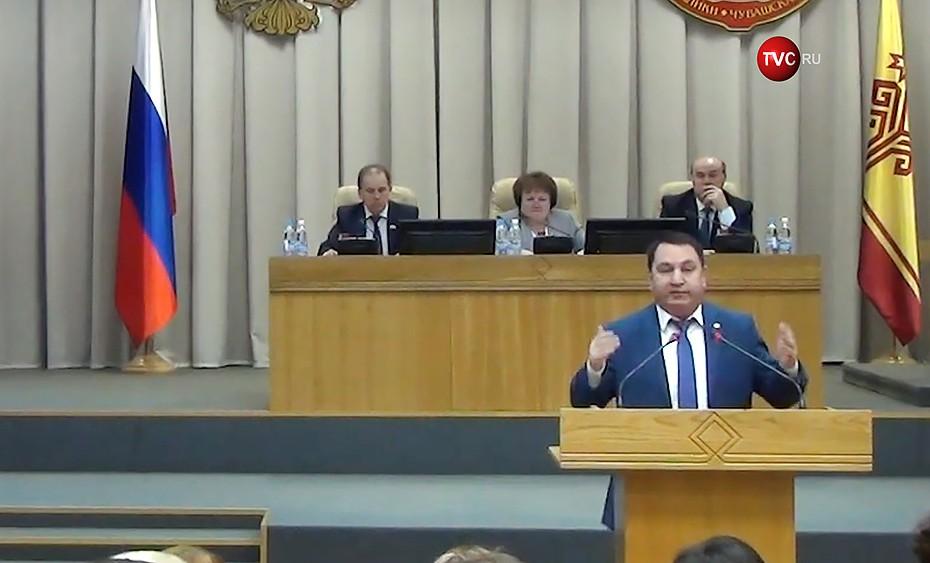Руководитель администрации главы Чувашской Республики Юрий Васильев