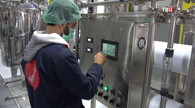 Фабрика напитков в Сирии