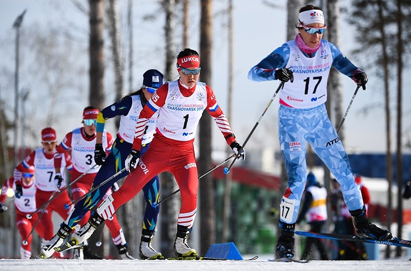 Универсиада-2019. Лыжные гонки. Женщины. Масс-старт