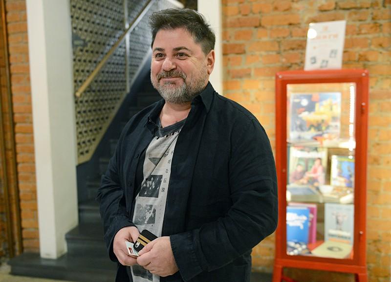 Актер и певец Александр Цекало