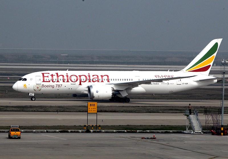 """Boeing """"Эфиопских авиалиний"""""""