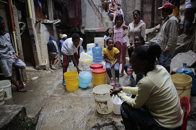 Нехватка воды в Венесуэле