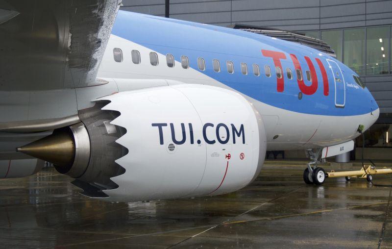 Boeing 737 Max туристического концерна Tui
