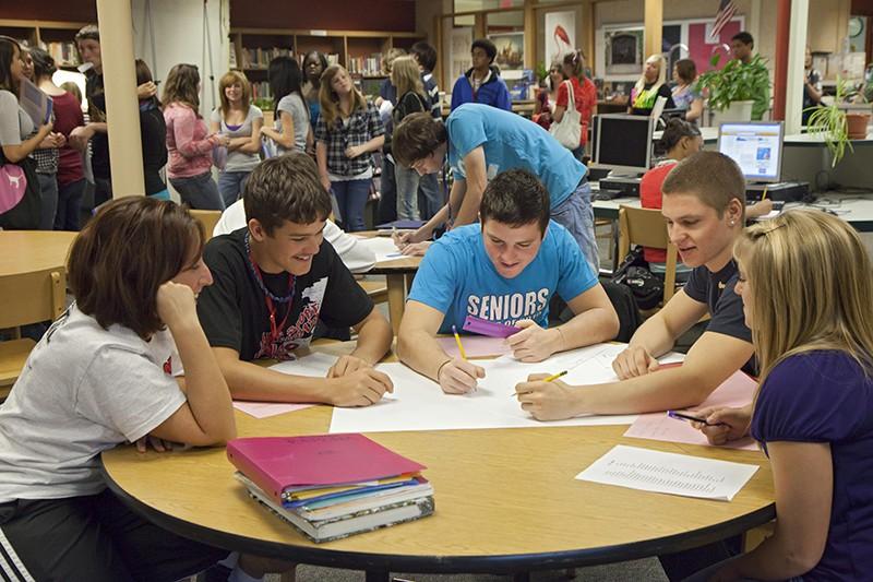 Американские студенты