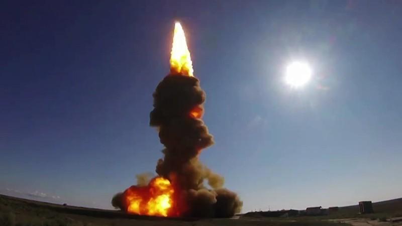 Испытательный пуск новой ракеты