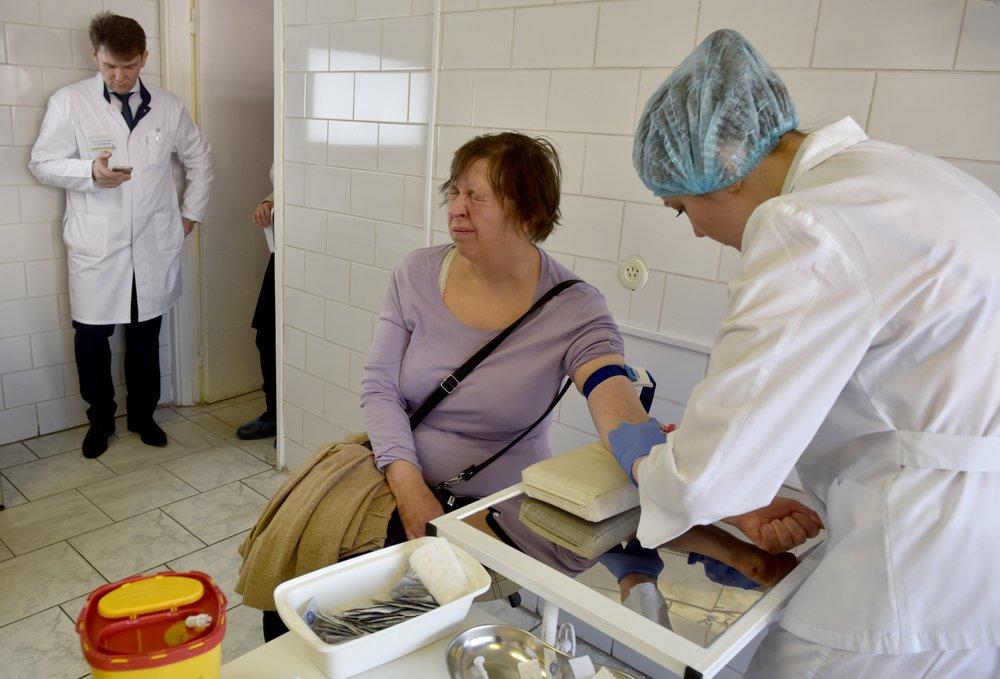 Посещение поликлиники
