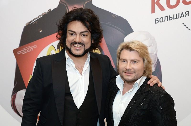 Певцы Филипп Киркоров и Николай Басков